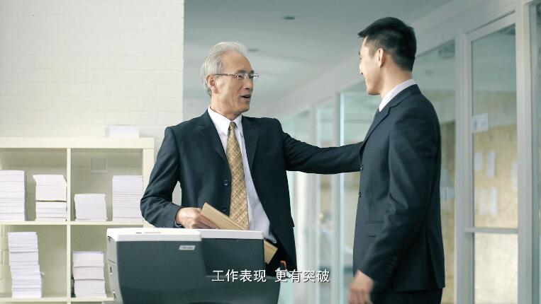 联xiang打印机TVCguang告